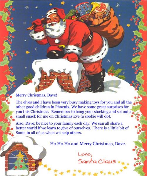 letter from santa claus unique books